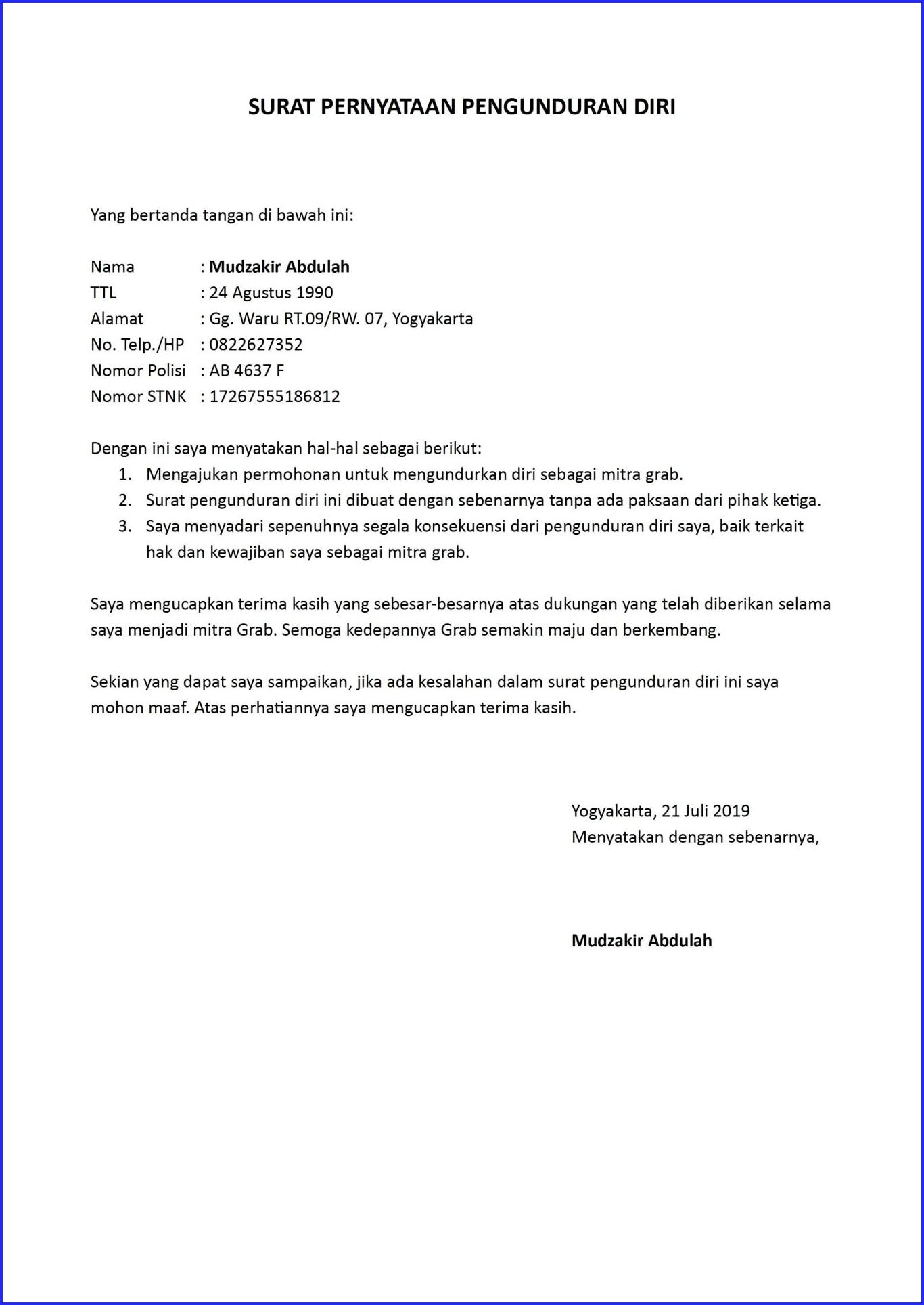 Format Surat Dukungan - Guru Ilmu Sosial