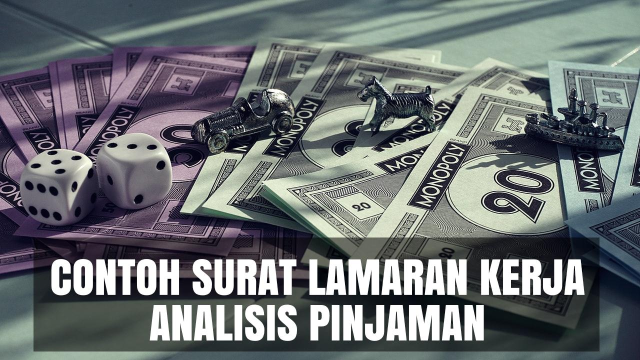 contoh cover letter analisis pinjaman