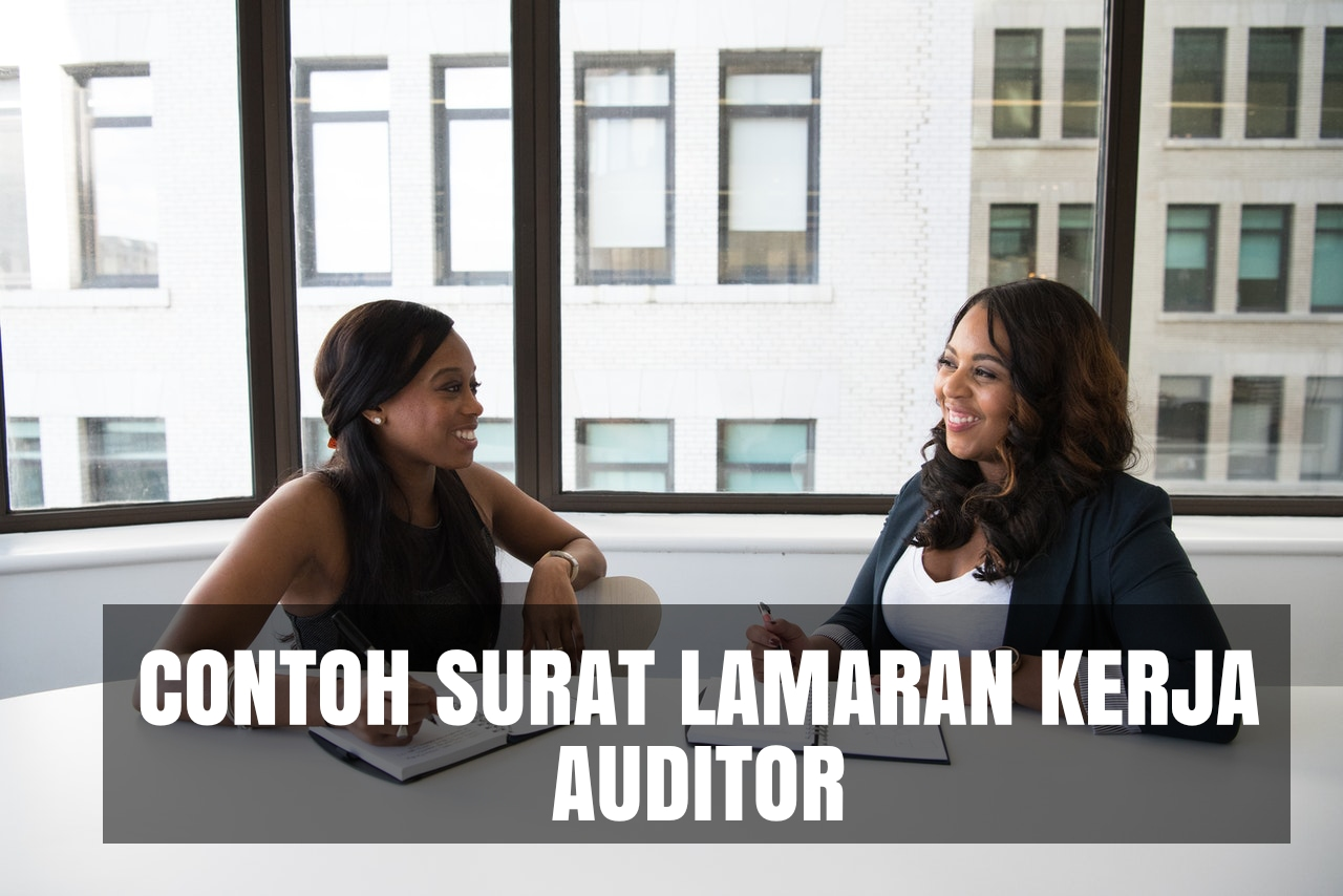 contoh cover letter auditor